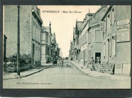 CPA - WIMEREUX - La Rue Des Dunes, Animé - Autres Communes