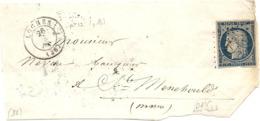 Idnre - Loches Pour Ste Menehould (Marne). PC Sur YT4 - Marcofilia (sobres)