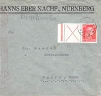 MiNr. W23 Auf Brief (Drucksache) - Briefe U. Dokumente