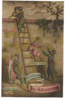 Carte Humoristique - L'Echelle Des Amoureux... 1917 - Umoristiche