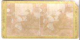 Deutsches Wohnzimmer- 1904 (S041) - Stereo-Photographie
