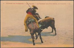 Le Taureau Soulève Cheval Et Picador, C.1920 - Lévy Et Neurdein CPA LL4 - Corrida