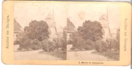 1. Kirche Zu Schulpforta - 1904 (S043) - Stereo-Photographie