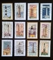 SERIE COMPLETE 12 TIMBRES PHARES 2019 - France