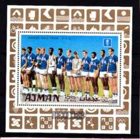 Olympics 1968 - Basketball - AJMAN - S/S Perf. MNH - Zomer 1968: Mexico-City
