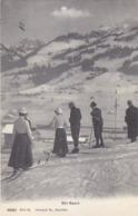 Skifahren Annodazumal - Phototypie & Co., Neuchâtel - 1905            (P-192-70816) - Wintersport