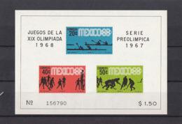 Olympics 1968 - Basketball - MEXICO - S/S Imperf. MNH - Zomer 1968: Mexico-City