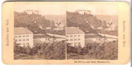 Schloß Und Stadt Blankenburg - 1903 (S045) - Stereo-Photographie