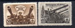 Serie  Nº 1009/10  Rusia - Nuevos