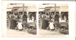 Nice - Une Ménagère Faisant Son Marché  - 1904 (S047) - Stereo-Photographie