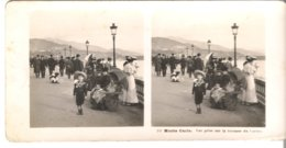 Monte Carlo - Vue Prise Sur La Terrasse Du Casino  - 1905 (S048) - Stereo-Photographie