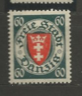 Danzig 1935  Mi.Nr.: 244  Coat Of Arms 60 Pfg Mint Hinged X - Danzig