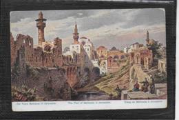 AK 0363  Perlberg , F.  - Der Teich Bethesda In Jerusalem ( Palästina ) / Künstlerkarte Um 1910-20 - Perlberg, F.