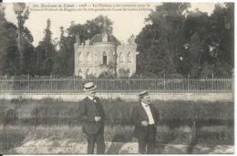 Environs De CALAIS - 1908 - Le Château Construit Pour Le Gal Oudinot   Sur La Rive Gauche Du Canal De  Calais  à  Guînes - Calais