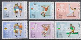 Olympics 1968 - Athletics - Gymnastics - AJMAN - Set 6v MNH - Zomer 1968: Mexico-City