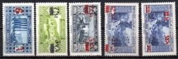 Col17  Colonie Grand Liban N° 159 à 163 Neuf X MH Cote 19,00 € - Grand Liban (1924-1945)