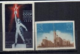 Serie  Nº 709/10  Rusia - Unused Stamps