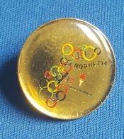 OLYMPIC GAMES - LILLEHAMMER, 1994.  BID  Badge / Pin - Olympische Spelen