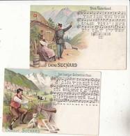 CPA Suisse - 6 Trés Belles Cartes Publicitaire Cacao Suchard   :   Achat Immédiat - Werbepostkarten