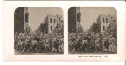 Jesus Tombe Pour La 1 Re  Fois  - 1904 (S052) - Stereo-Photographie