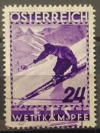 AUSTRIA 1936 - Canceled - ANK 624 - FIS Wettkämpfe 24g - 1918-1945 1ra República