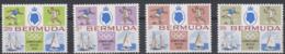 Olympics 1968 - Soccer - Sailing - BERMUDA - Set 4v MNH - Summer 1968: Mexico City