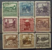 AUSTRIA 1923 - Canceled - ANK 433-441 - Complete Set! - 1918-1945 1ra República