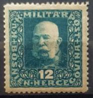 BOSNIEN - HERCEGOVINA 1916 - MLH - ANK 103 - KuK MILITÄRPOST - 12h - Bosnie-Herzegovine