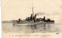 Marine Militaire Francaise  -  'Gabion'  -   Contre-Torpilleur  -    CPA - Warships