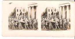 Jesus Porte Sa Croix  - 1904 (S053) - Stereo-Photographie