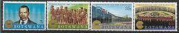 1983 BOTSWANA 473-76** Commonwealth, Danseurs - Botswana (1966-...)