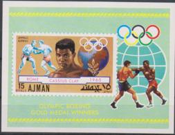 Olympics 1968 - Boxing - AJMAN - S/S MNH - Sommer 1968: Mexico