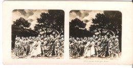 Jesus Trahi Par Judas  - 1904 (S055) - Stereo-Photographie