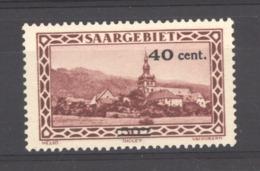 Sarre  :  Yv  172  * - 1920-35 Saargebied -onder Volkenbond