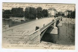 Cpa - ILE SAINT DENIS Le Pont De La Garenne - L'Ile Saint Denis