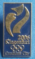 OLYMPIC GAMES -  KLAGENFURT 2006.  BID  Badge / Pin - Olympische Spelen