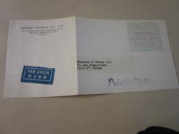 2 Lettres De Tokyo Pour La France - Japan