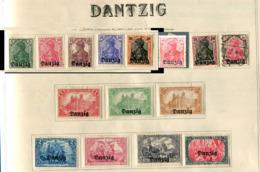 Dantzig *, Ob  + 200 Timbres - Danzig