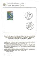 Bollettino PP.TT. Blt19900430 Napoli Campione Fdc As Napoli Af Roma - 6. 1946-.. Republic