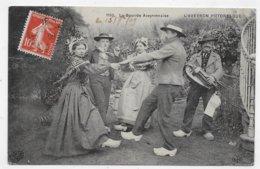 LA BOUREE AVEYRONNAISE EN 1909 - N° 119 - L' AVEYRON PITTORESQUE - BEAU CACHET - CPA VOYAGEE - Autres Communes