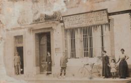 Carte Photo Poste De Carbonne 1913 TRES RARE - Francia