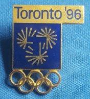 OLYMPIC GAMES -  TORONTO 1996.  BID  Badge / Pin - Olympische Spelen