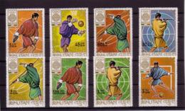 Olympics 1968 - Basketball - BHUTAN - Set MNH - Zomer 1968: Mexico-City