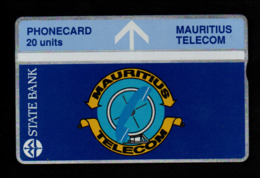 Maurice - 20 Units / Bleu - ???? (verso Voir Scan) - Mauritius