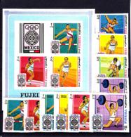 Olympics 1968 - Cycling - FUJEIRA - S/S+Set Imp. MNH - Summer 1968: Mexico City