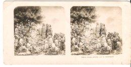 Jésus Preche Sur Le Montagne  - 1904 (S057) - Stereo-Photographie