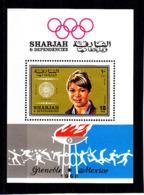 Olympics 1968 - Winner - SHARJAH - S/S Perf. MNH - Zomer 1968: Mexico-City