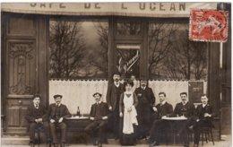 43 LE PUY CARTE PHOTO **Café De L'Ocean, Eyraud** 2 Scans - Le Puy En Velay