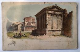 V 10794 Roma - Tempio Della Fortuna E Casa Di Cola Di Rienzo - Roma (Rome)