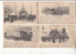 CPA Paris - 8 Cartes  - Exposition Universelle De 1900 - Cartes Avant 1904  :  Achat Immédiat - Ausstellungen